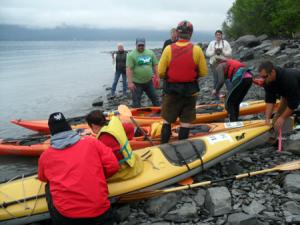 Athletes Compete in First Valdez Summit to Sound Challenge