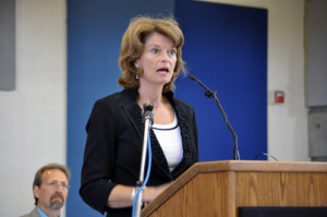Photo by Josh Edge, APRN - Anchorage: Senator Lisa Murkowski