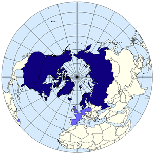 Arctic council map. Wikimedia.