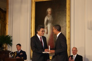 Fort Yukon Man Receives Presidential Honor