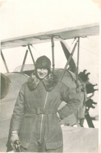 Russel Merrill in fligh suit