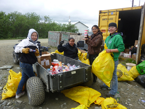 Cleaning Up Rural Alaska – The Marshall Cleanup