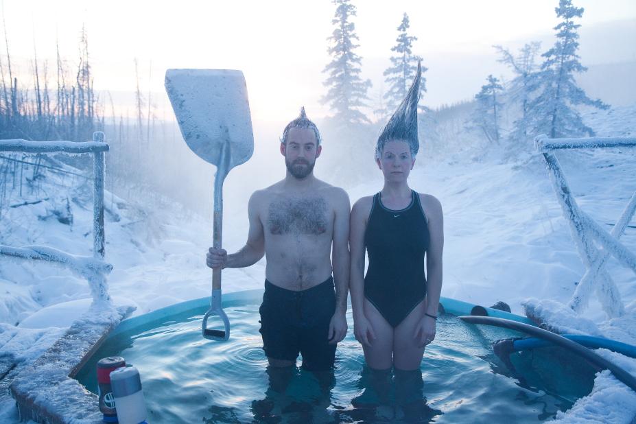 Tolovana Hot Springs 11 Mile Ski At 35f Alaska Public Media