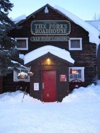 Forks Roadhouse Burns Down