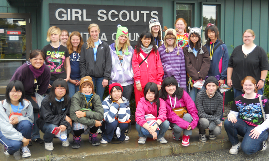 alaska girl scout prepares for the trip of a lifetime