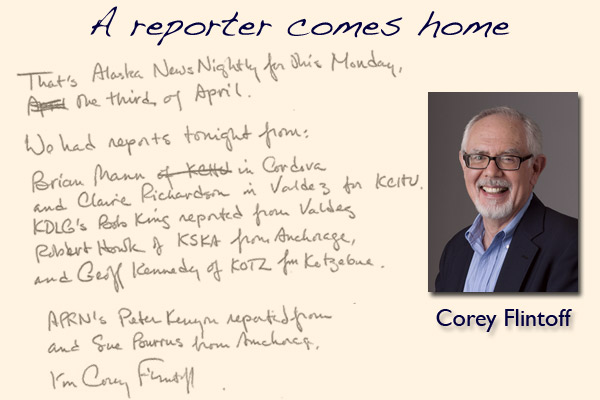 Newsman Corey Flintoff comes home for a visit