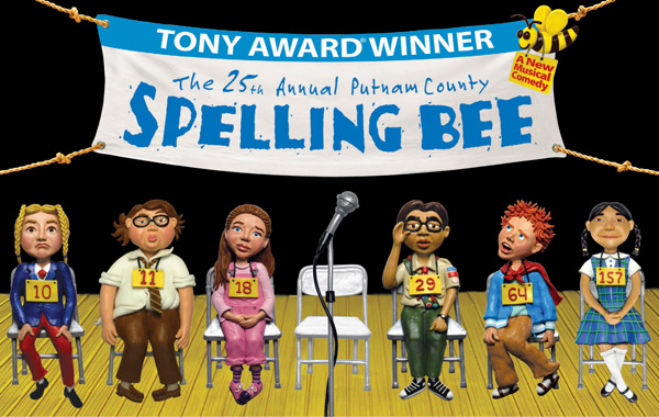 "Image from ""The 25th Annual Putnam County Spelling Bee"" Broadway production"