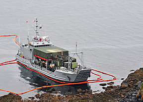 15,000 Gallons of Fuel Leak from Army Reserve Vessel