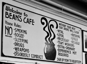 Beans Cafe Excerpt