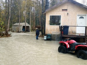 Southcentral Alaska Copes With Flooding