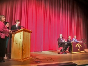 Kayhi Students Host District 33 Candidate Forum