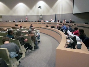 An Anchorage Assembly meeting in December 2012. Photo by Daysha Eaton, KSKA - Anchorage