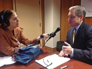 Parnell Discusses Priorities For Session