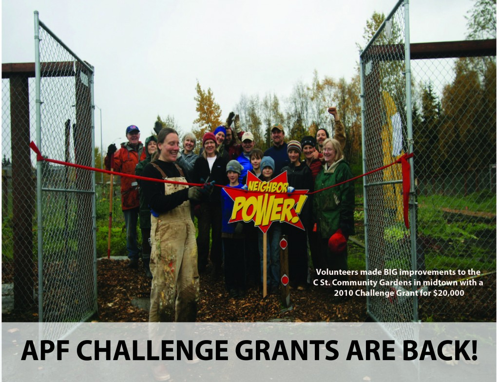 Anchorage Park Foundation Challenge Grants