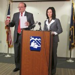 ASD Superintendent Jim Browder and School Board President Jeannie Mackie present the District's 2013-14 budget.
