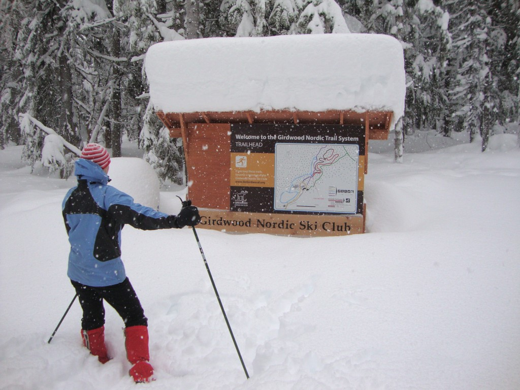 Girdwood Nordic Trail System welcomes skiers. Photo courtesy Adam Verrier