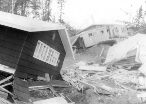 Turnagain. Photo by R.A. Page. Pages 24-25 , Earthquake Information Bulletin, v.12, no.1., U.S.G.S. Website
