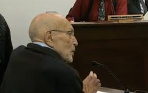 Vic Fischer testifies before House education committee (credit: Gavel Alaska)