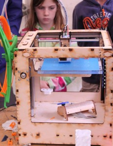 A maker space will be included in the proposed library redesign.