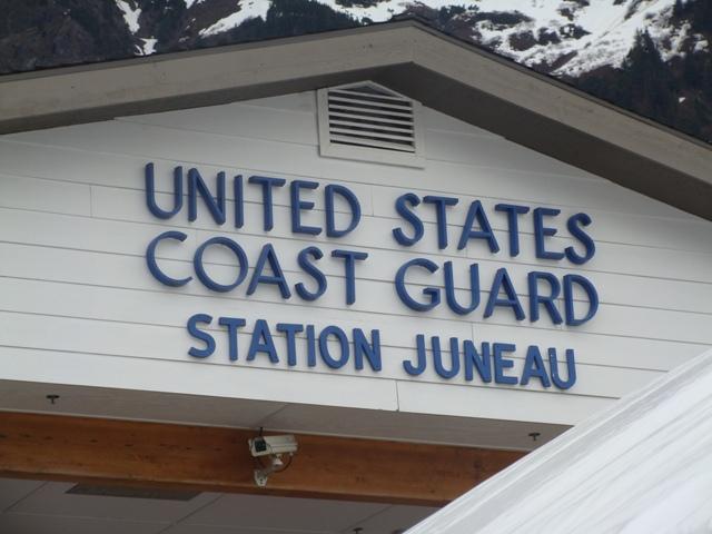 Coast Guard Station Juneau. KTOO File photo.