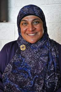 Rukhsana Khan. Photo by Josh Edge, APRN - Anchorage.
