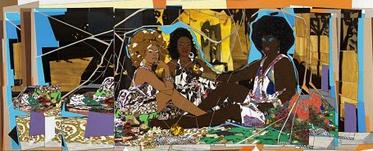 Le DeJeuner Sur L'Herbe Les Trois Femmes Noires (Thomas 2010).