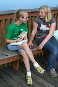 A new friendship develops at Girl Scout's Camp Togowoods.