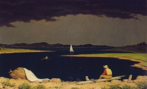 Martin Johnson Heade - Approaching Thunderstorm (1859)