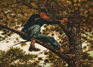 Winslow Homer - Sharpshooter (1863)
