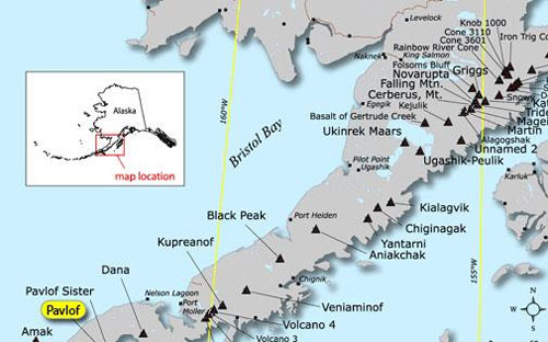 Bluff Alaska Map.Pavlof Location Alaska Public Media