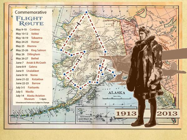 Celebrating Years Of Aviation In Alaska Alaska Public Media - Vintage aviation maps