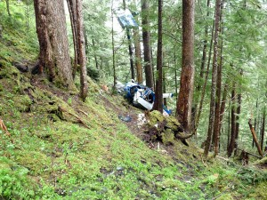 Float Plane Crash Victim Recovered From Steep Mountainside