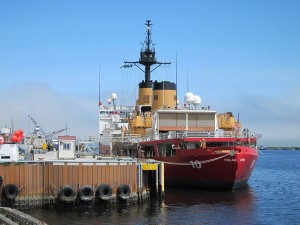The Polar Star in port on June 27, 2013. Photo by Audrey Carlsen, KUCB - Unalaska.