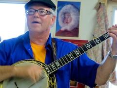 Raymond McClain at the Akiak Community Hall. Photo by Shane Iverson.