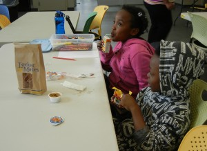 Meals are often an important part of library special programs.