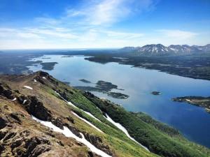 Jackknife Mountain. Photo courtesy of Alaska's Bearclaw Lodge.