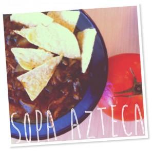 Food Mosaic Sopa Azteca 2
