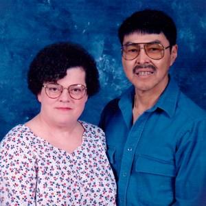 Marilyn and Peter Tony. Photo courtesy of Kimberley Bruesch
