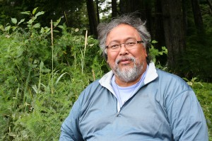 Mike Jackson, one of the founders of the culture camp and magistrate in Kake. Photo by Erik Neumann, KCAW - Sitka.