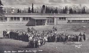 North Star Elementary, 1950. © Jana Ariane Nelson