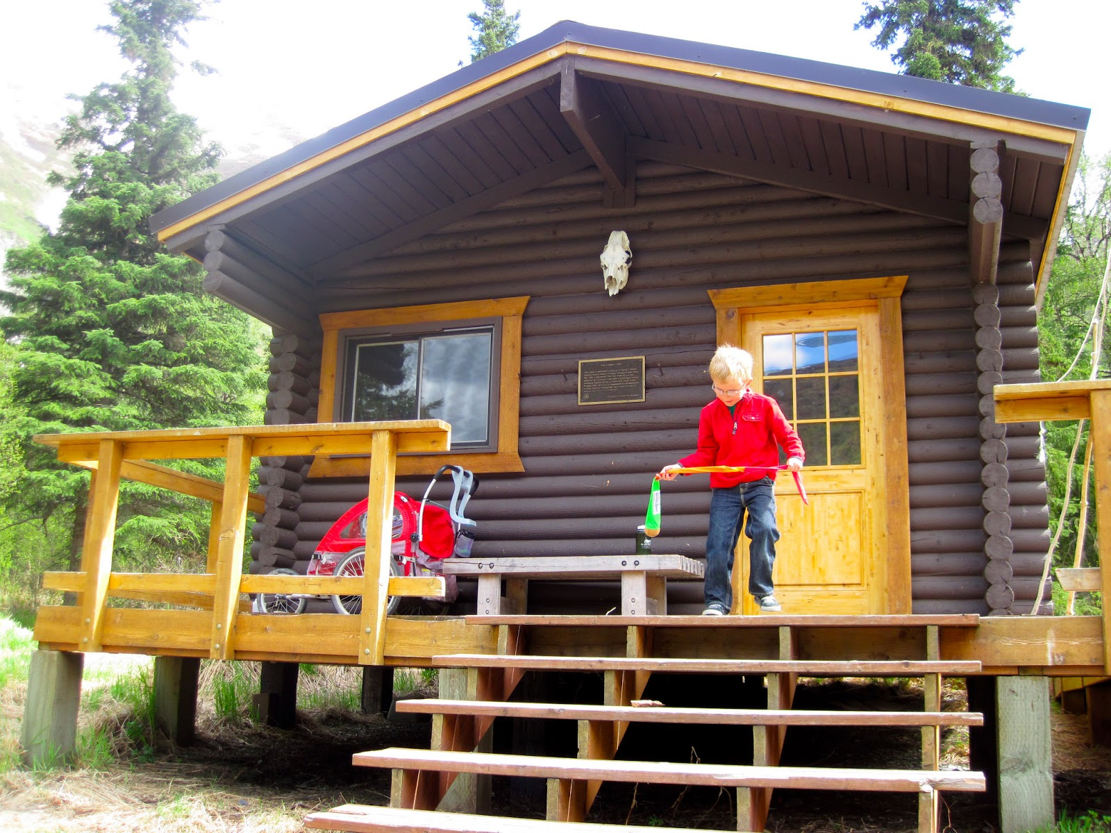 Cabin camping 101 alaska public media for Nearby campgrounds with cabins