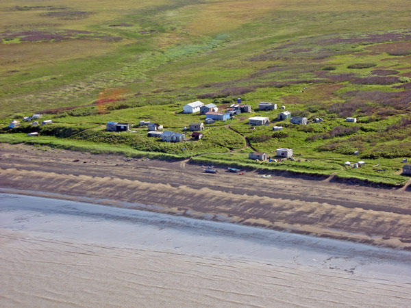 No activity on the Igushik Beach as the set net fishery remains closed. Photo by Mike Mason, KDLG - Dillingham.
