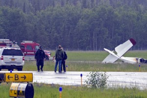 Ten people were killed when an airplane crashed just after takeoff in Soldotna.