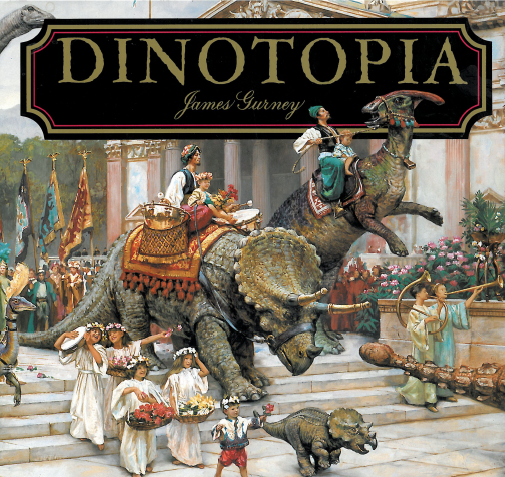 Dinotopia Book Cover