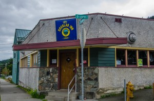 P P's Douglas Inn at 915 3rd Street in Douglas remains dark and closed after the IRS seized the property for non-payment of back taxes. Photo by Heather Bryant/KTOO News
