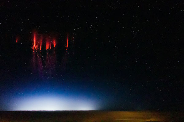 Sprites as photographed by Jason Ahrns.