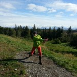 Disc golf in Homer, AK.