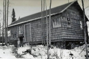 Our New Home, Spenard, 1948.