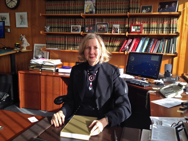 Chief Justice Dana Fabe. Photo by Lori Townsend, APRN - Anchorage.
