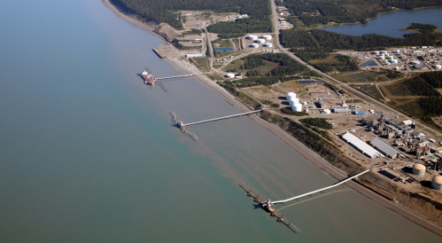 Port of Nikiski (Nuka Research/State of Alaska)